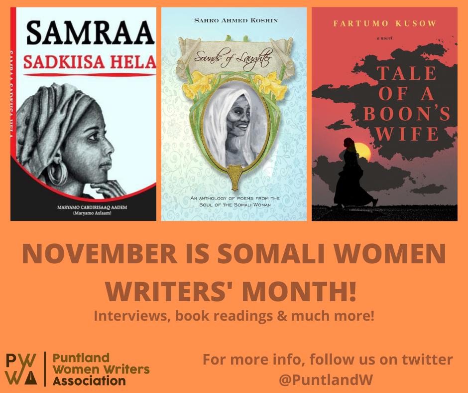 November is somali women writers